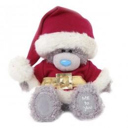 Мишка Тедди в костюме Санты 18 см (G01W3332)