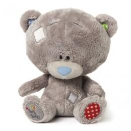 Мишка Тедди звуковой с погремушкой 18 см (G92W0124)