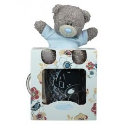 Набор чёрная чашка с мишкой Тедди (G91G0147)