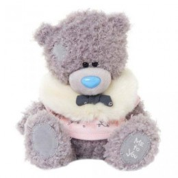 Мишка Teddy в тёплой розовой курточке 20 см (G01W3289)