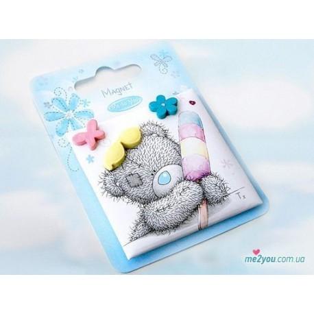 """Магнит """"Мишка с мороженым"""" (G01Q0535)"""
