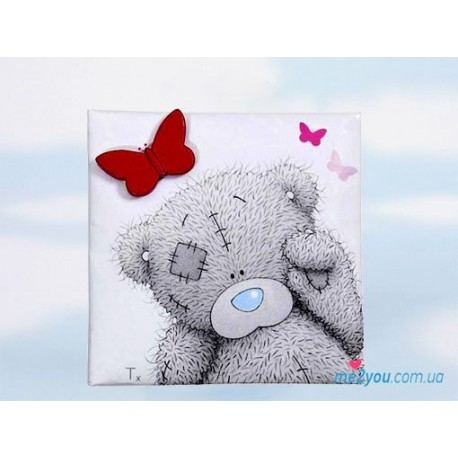 Магнит Me to you - мишка машет лапкой (G01Q0485)