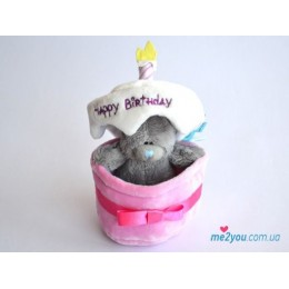 Мишка Me to you в тортике (G01W1256)