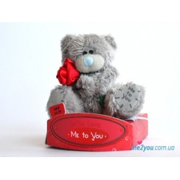 Мишка Me to you с розочкой (G01W1719)
