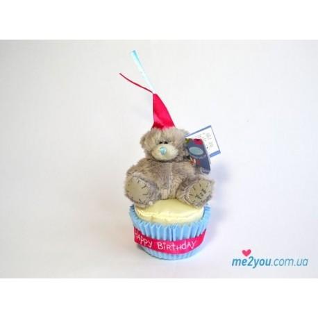 Мишка Тедди в кексе (G01W2076)