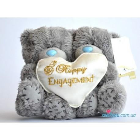 Два мишки Me to you с днем свадьбы (G01W1544)