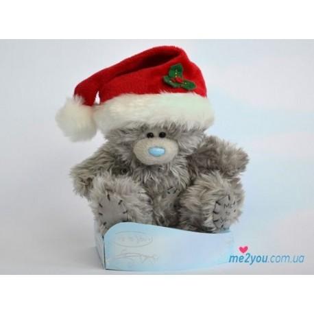 Мишка Тедди в новогоднем колпачке (G01W2027)
