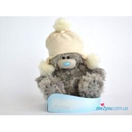 Мишка Тедди в шапке инки (G01W2013)