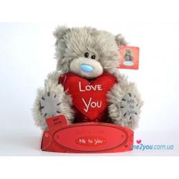 Мишка Тедди с сердечком (G01W1708)