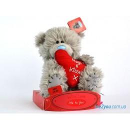 Мишка с сердцем (G01W1726)