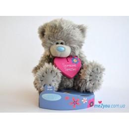 Мишка Тедди с подвеской Someone special (G01W2083)