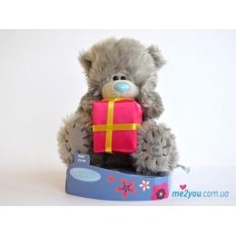 Мишка Тедди с подарком (G01W2085)