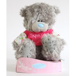 Мишка Тедди в футболочке Someone special (G01W2252)