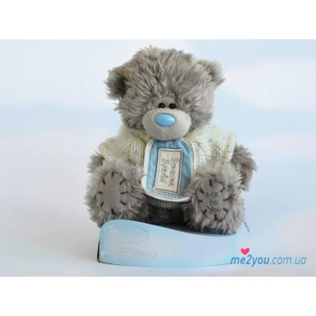 Мишка Тедди в свитере Someone special (G01W1998)