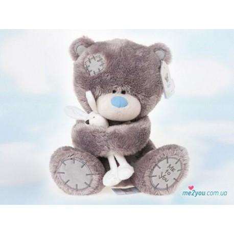 Мишка Тедди держит кролика (G92W0039)