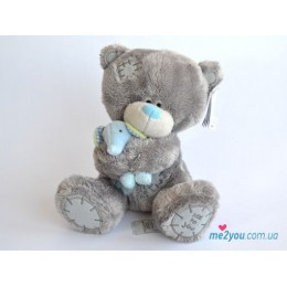 Мишка Тедди держит слоненка (G92W0051)