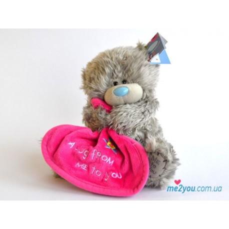 Мишка Тедди с одеяльцем (G01W2086)
