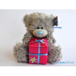 Мишка Тедди с подарком (G01W2090)