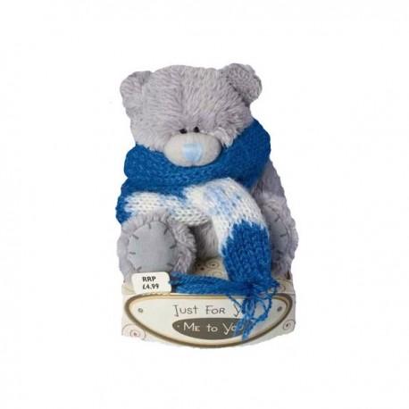Мишка Тедди Me to you в шарфе 7,5 см (G01W0556)