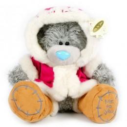 Мишка Тедди в розовой шубке Special Friend 25 см (G01W1239)