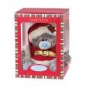 Мишка Me to you в коробке, в костюме Деда Мороза 20 см (G01W2760)