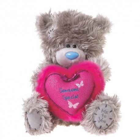 Мишка Teddy держит сердце Someone special 20 см (G01W2897)