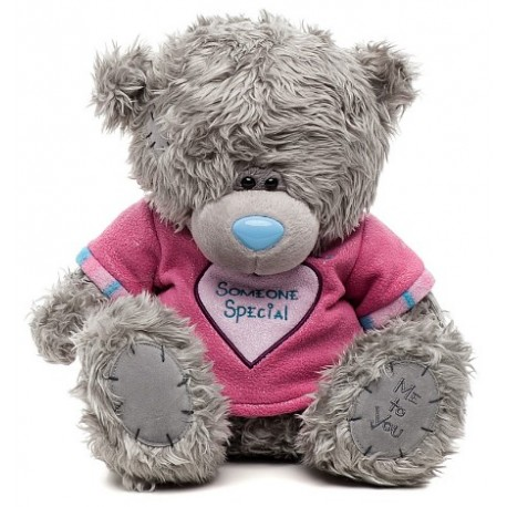 Мишка Me to you в футболке с сердечком Someone Special 30 см (G01W3043)