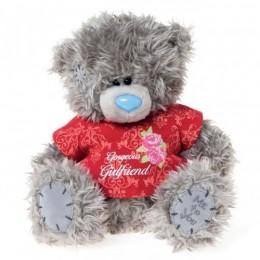 Мишка Teddy в футболке Gorgeous girlfriend 20 см (G01W3188)