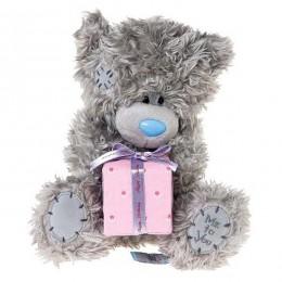 Мишка Митую с подарком Happy birthday 20 см (G01W3189)