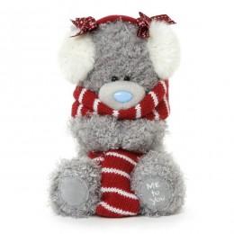 Мишка Me to you в шарфе и наушниках 18 см (G01W3304)