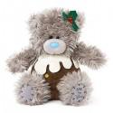 Мишка Тедди в костюме пирога 18 см (G01W3623)