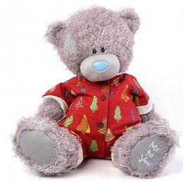 Мишка Тедди Me to you в новогодней пижаме 41 см (G01W3656)