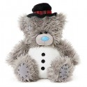 Мишка Тедди в виде снеговика 18 см (G01W3662)