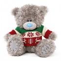 Мишка Me to you в джемпере изображающем Рождество 23 см (G01W3722)
