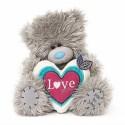 Мишка Митую с сердцем в руках 18 см (G01W3750)