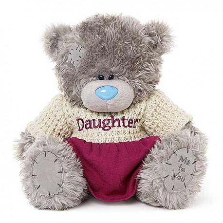 Мишка Teddy в кофточке и в юбке 25 см (G01W3768)