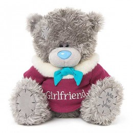 Мишка Тедди в свитерке Girlfriend 25 см (G01W3771)