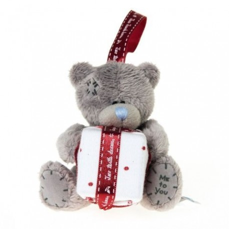 Мишка Teddy с подарком в лапках 7,5 см (G01W3316)
