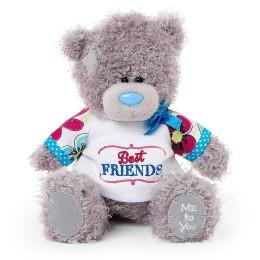Мишка MTY в футболке Best friends 18 см (G01W3436)