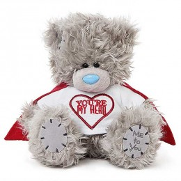 Мишка Teddy в футболке You're my hero 18 см (G01W3814)