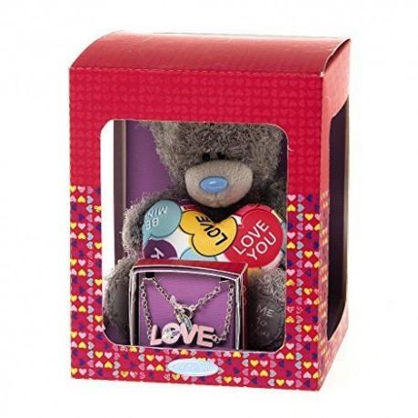 Набор Me to You - мишка с сердцем и браслет Love (G01Q6133)