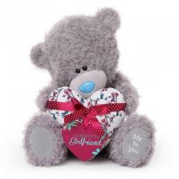 Мишка Тедди Me to you c сердцем Gorgeous girlfriend 30 см (G01W3427)