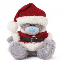 Игрушка Me to you Мишка в костюме Санта Клауса 20 см (G01W3305)