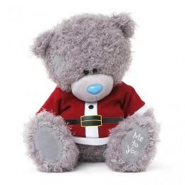 Мишка Тедди Me to you в костюме санты 25 см (G01W3335)