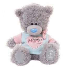 Мишка Тедди Me to you в футболке Mum 18 см (G01W3377)