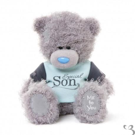 Мишка Me to you в футболке Special Son 18 см (G01W3382)