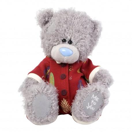 Мишка Тедди Me to you в комбинезоне 20 см (G01W3721)