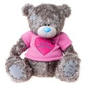 Мишка Тедди Me to you с сердцем With Love from Me to you 61 см (G01W2805)