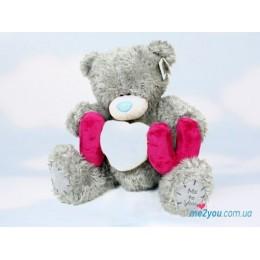 Мишка Тедди с буквами I love you (G01W0570)