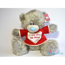 Мишка Тедди с разведенными лапками I love you this much (G01W2048)